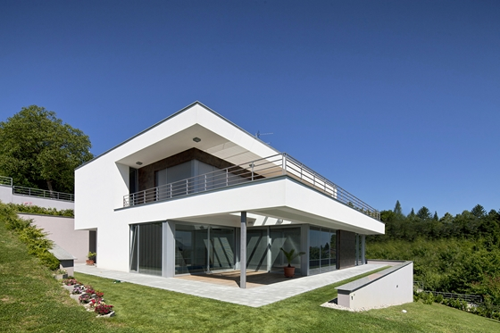 Emejing maison moderne carre ideas amazing house design for Maison moderne carre