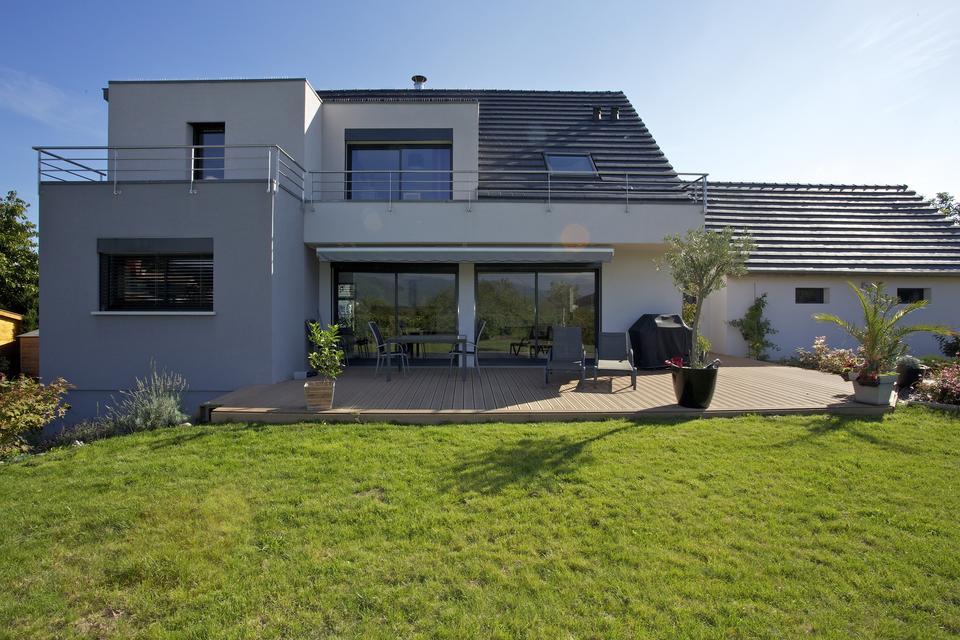 Recherche maison contemporaine mc immo for Annuler offre achat maison