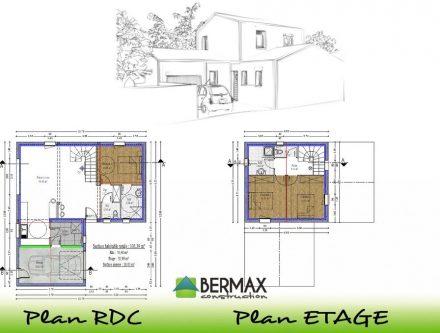 Plan De Maison Neuve Affordable Lovely Plan Maison Neuve Cration De