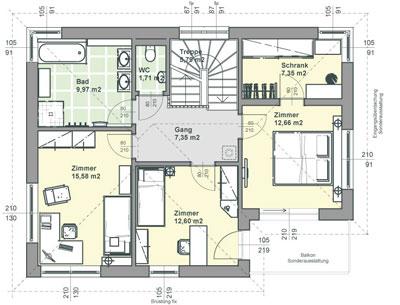 Plan Maison Cubique Toit Plat Toit Terrasse Igc Maison Esprit Plan