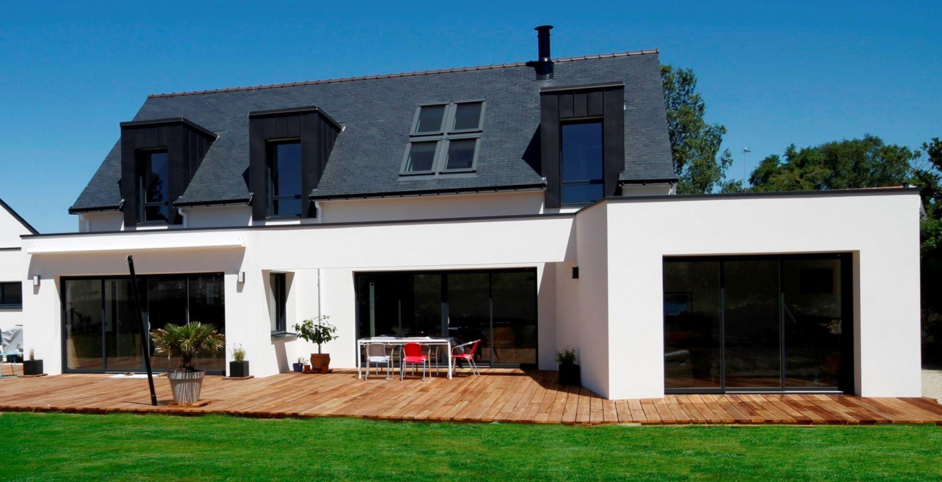 plan maison contemporaine herault