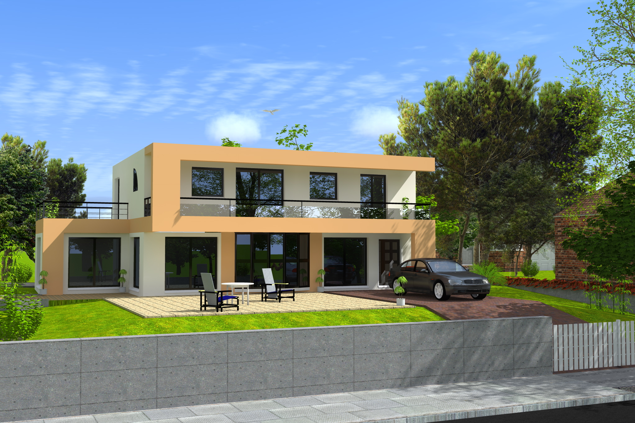 Construction de maison 3d 28 images maison 183 3d 183 - Construction de maison 3d ...