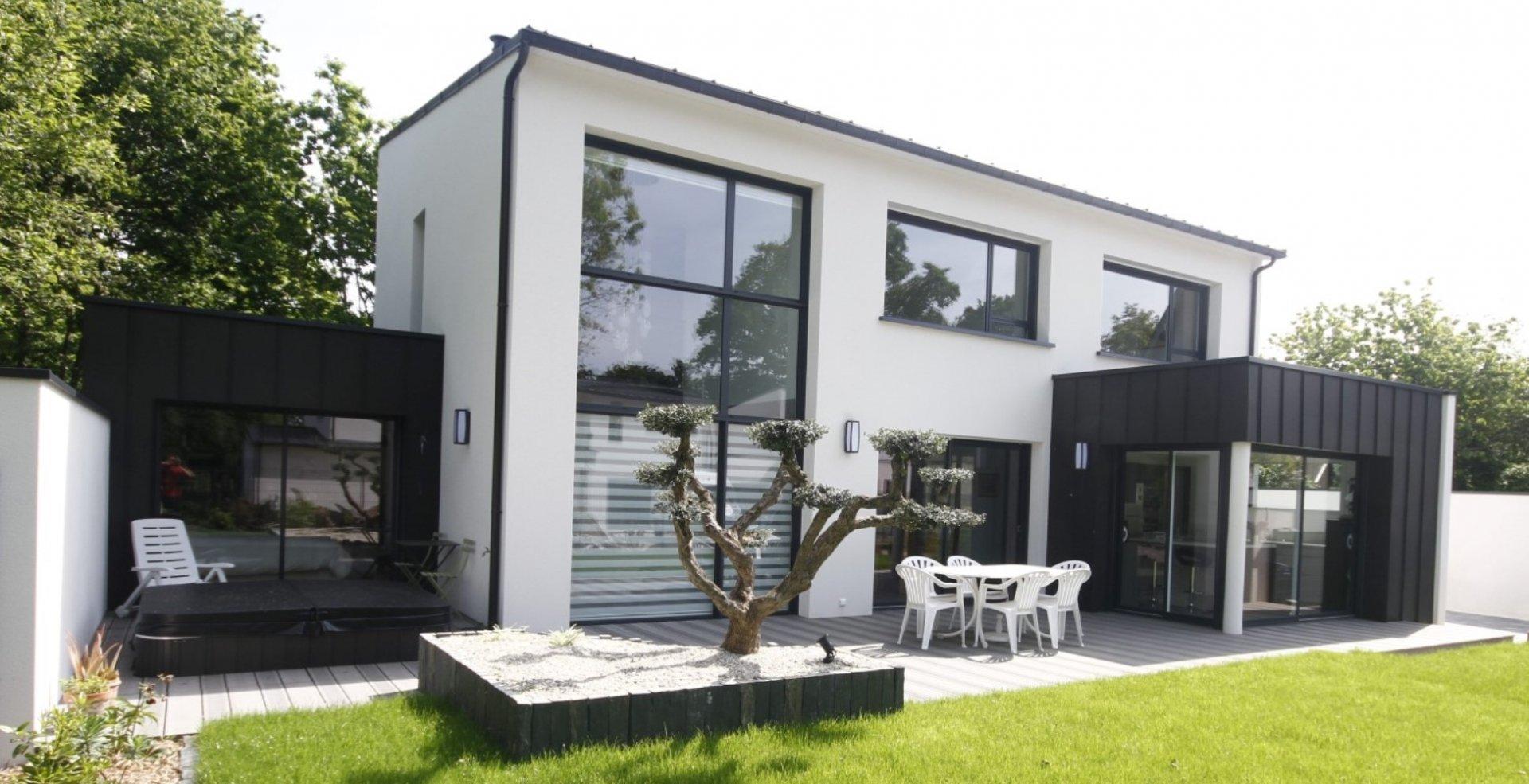 prix d une maison en maisons en bois prix la morne plat conception sign maison bois tarif plan. Black Bedroom Furniture Sets. Home Design Ideas