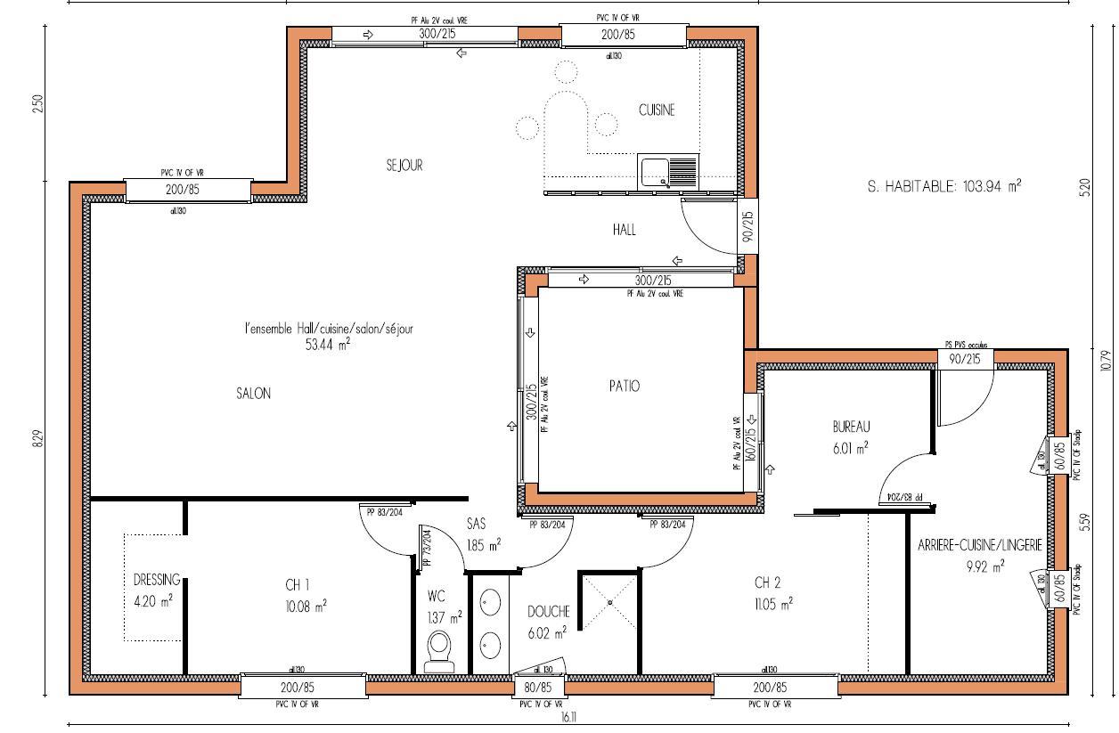 Agreable Maison Plan Design