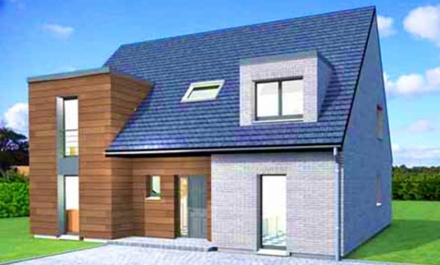 prix construction maison contemporaine m2 mc immo