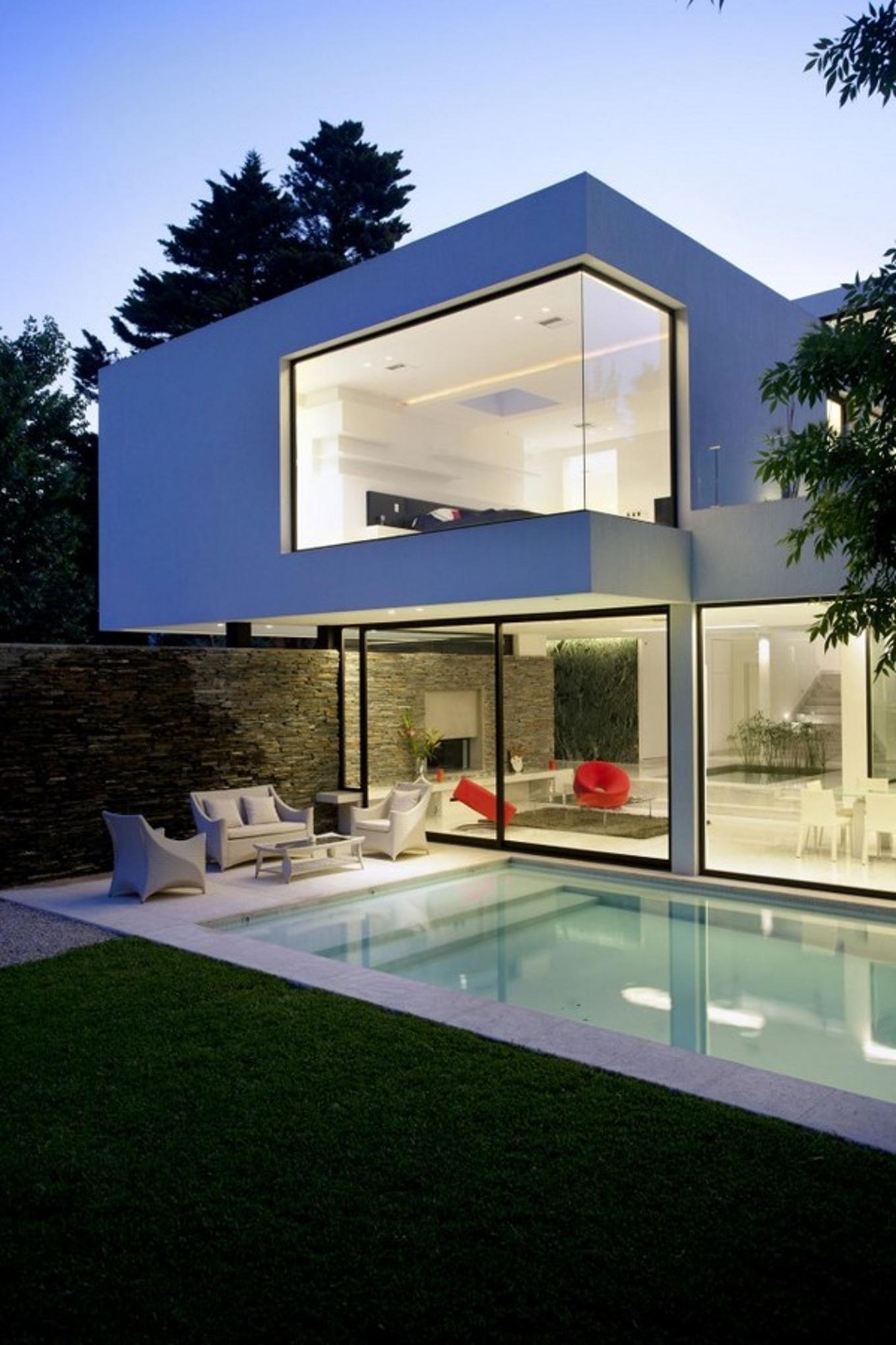 Beautiful Maison Moderne Bonnevoie Contemporary - Design Trends ...