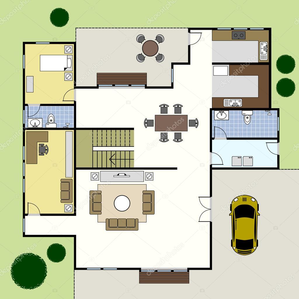 Bon Les Plan Architectural Des Maison   Mc Immo
