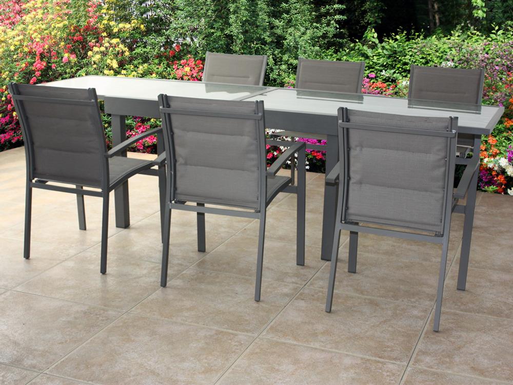 Best Table De Jardin Structure Aluminium Pictures - Amazing House ...