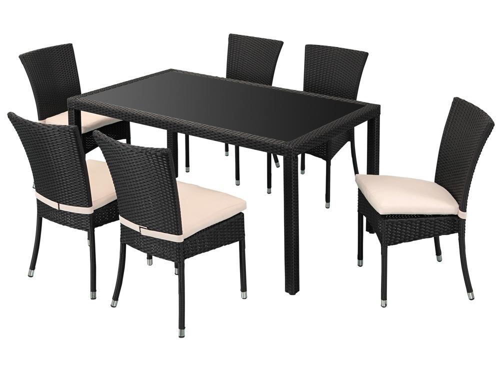 Table et chaise en resine tressee pas cher | Optimisatrice