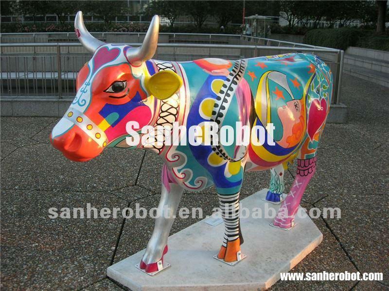 Vache deco exterieur - Mc immo