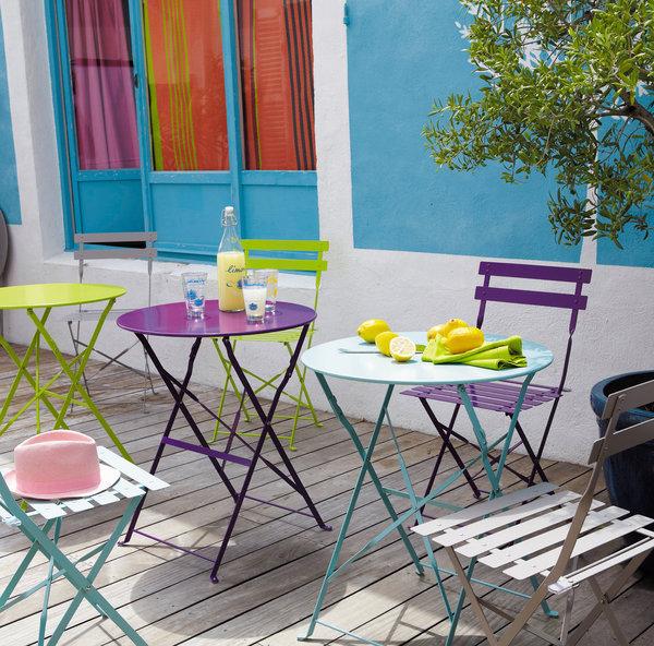 Petite table de terrasse | Spa amiens sonails