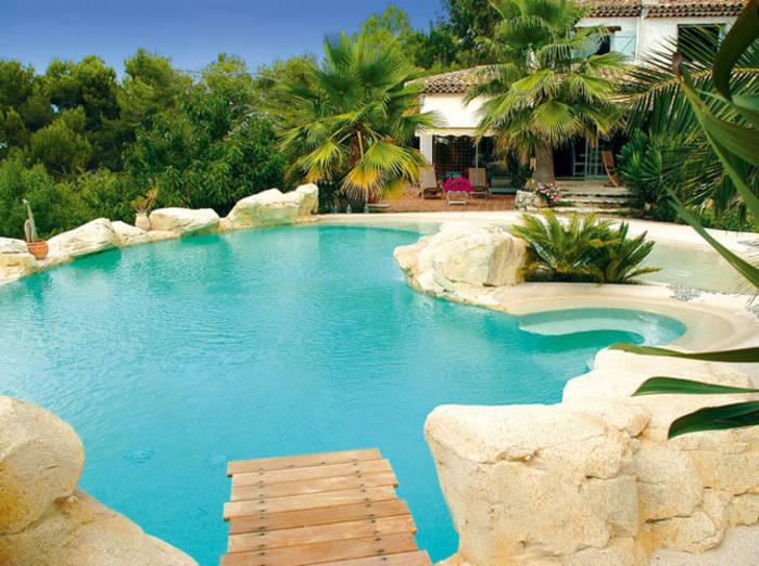 Deco exterieur piscine - Mc immo