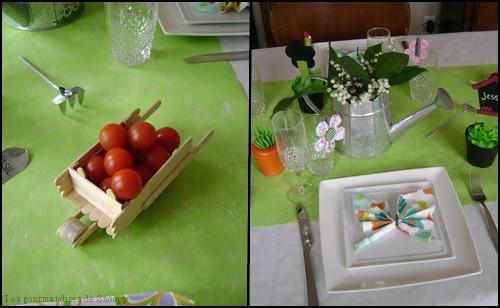 Deco table jardin - Mc immo