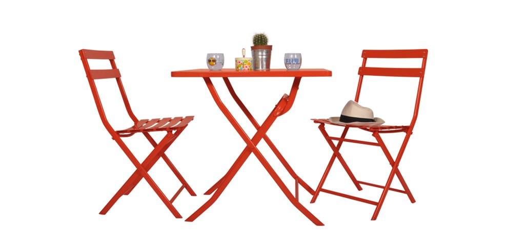 Petite table de jardin pas cher table ronde de jardin | Maisondours