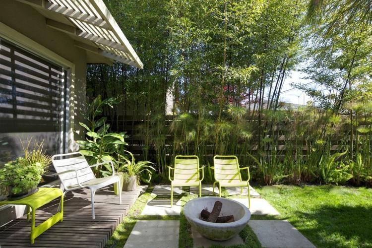 Amenagement jardin bambou - Mc immo