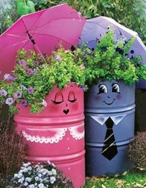 Pot deco jardin - Mc immo