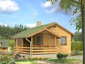 Maison en bois prix mc immo for Maison ossature en bois prix