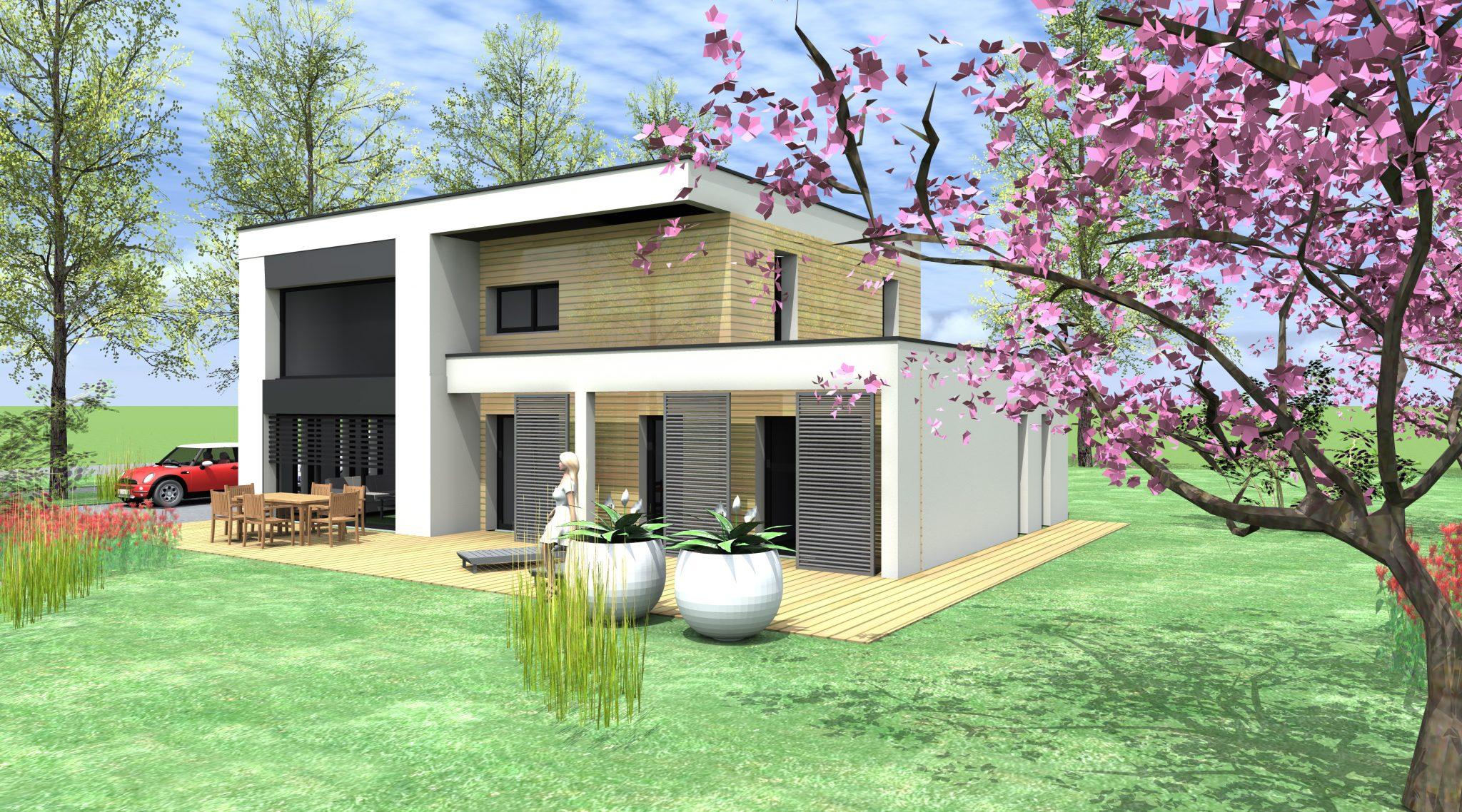 Projet de maison neuve mc immo for Maison neuve projet