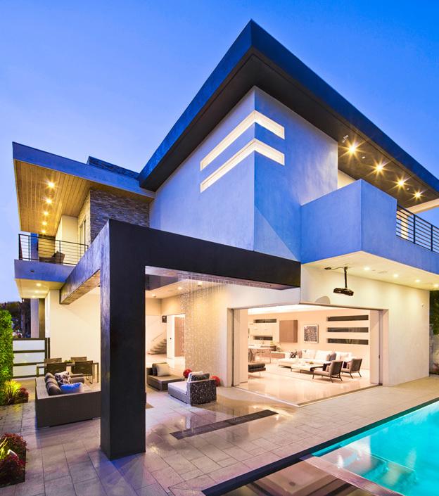 Architecture moderne villa