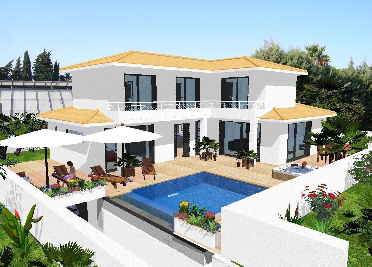 Superbe Architecture Villa Moderne   Mc Immo