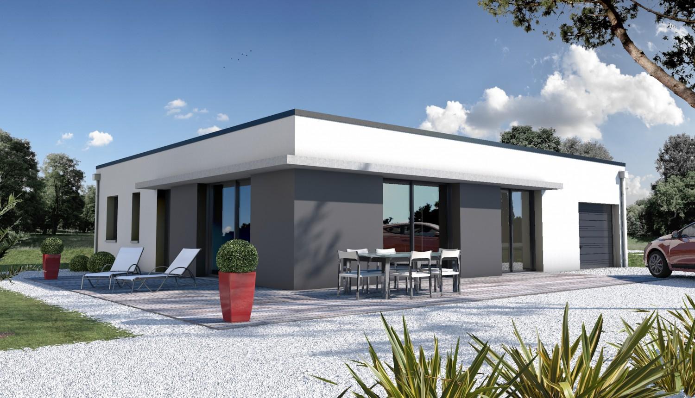 Constructeur de maison moderne - architecture mai