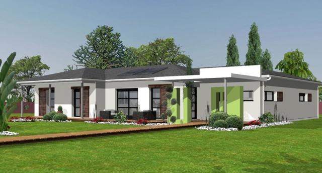 Modele de maison a construire moderne