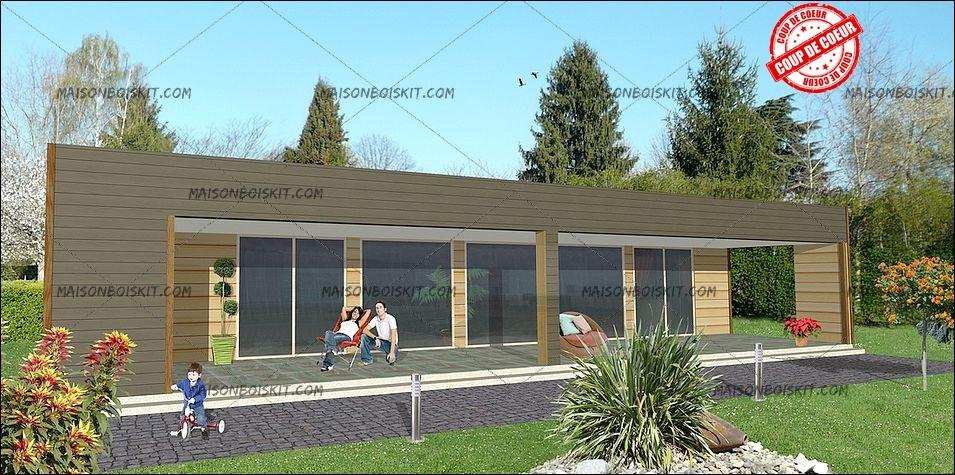 Maison en bois moderne prix mc immo for Maison en bois moderne prix