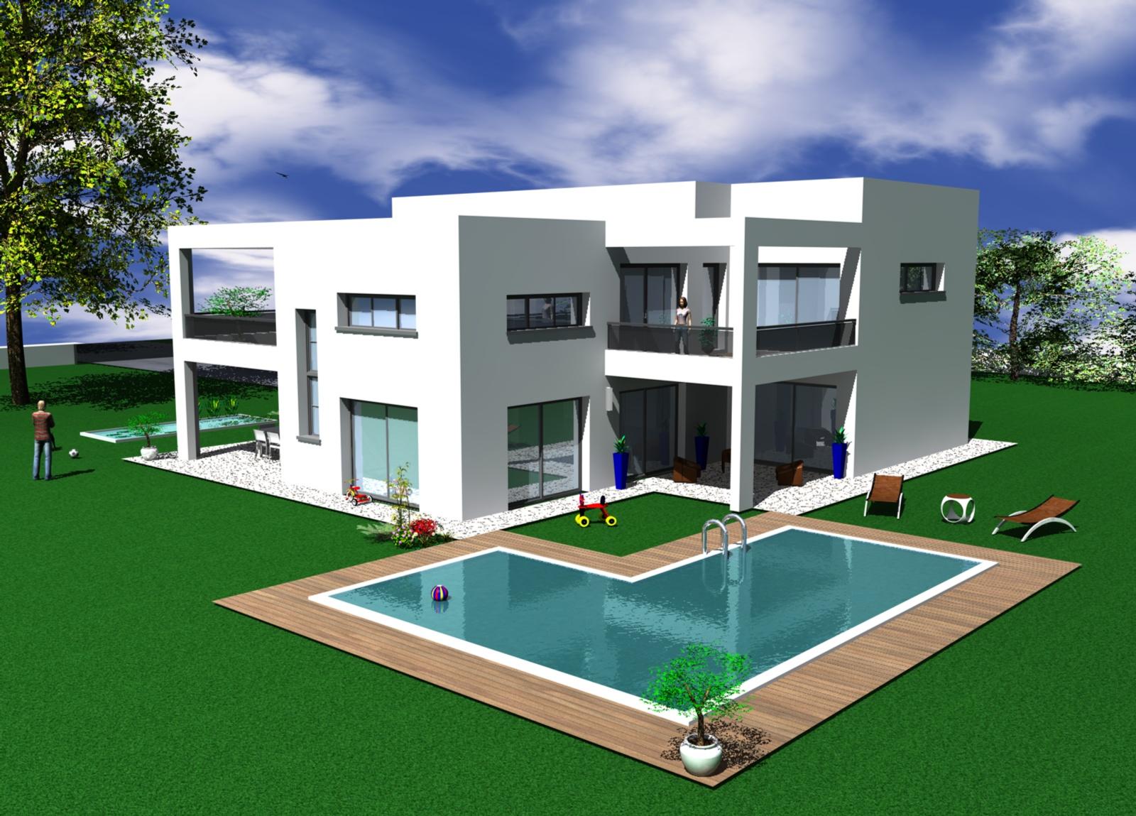 Maison design construction
