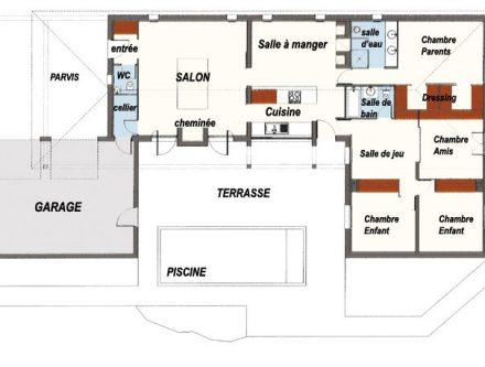 Maison futuriste archives page 14 sur 15 mc immo for Plan maison futuriste