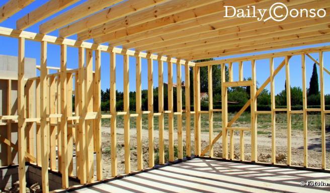 Construire sa maison en bois mc immo for Construire maison pas cher design