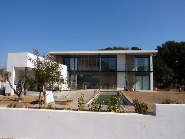 maison moderne rectangle