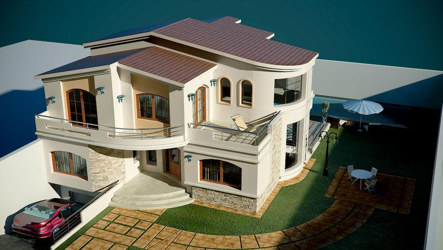 Villas modernes architecture