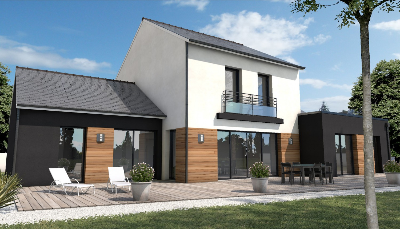 Maison classique moderne mc immo for Maison bois classique