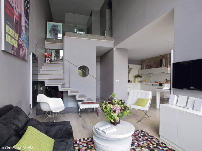 Modele interieur maison contemporaine - Mc immo
