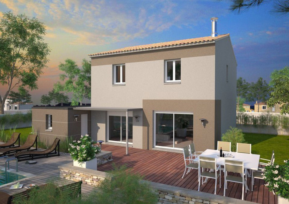 Maison neuve 95 mc immo for Vente maison neuve 04