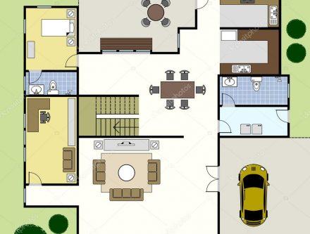 Maison futuriste archives mc immo for Plan maison futuriste