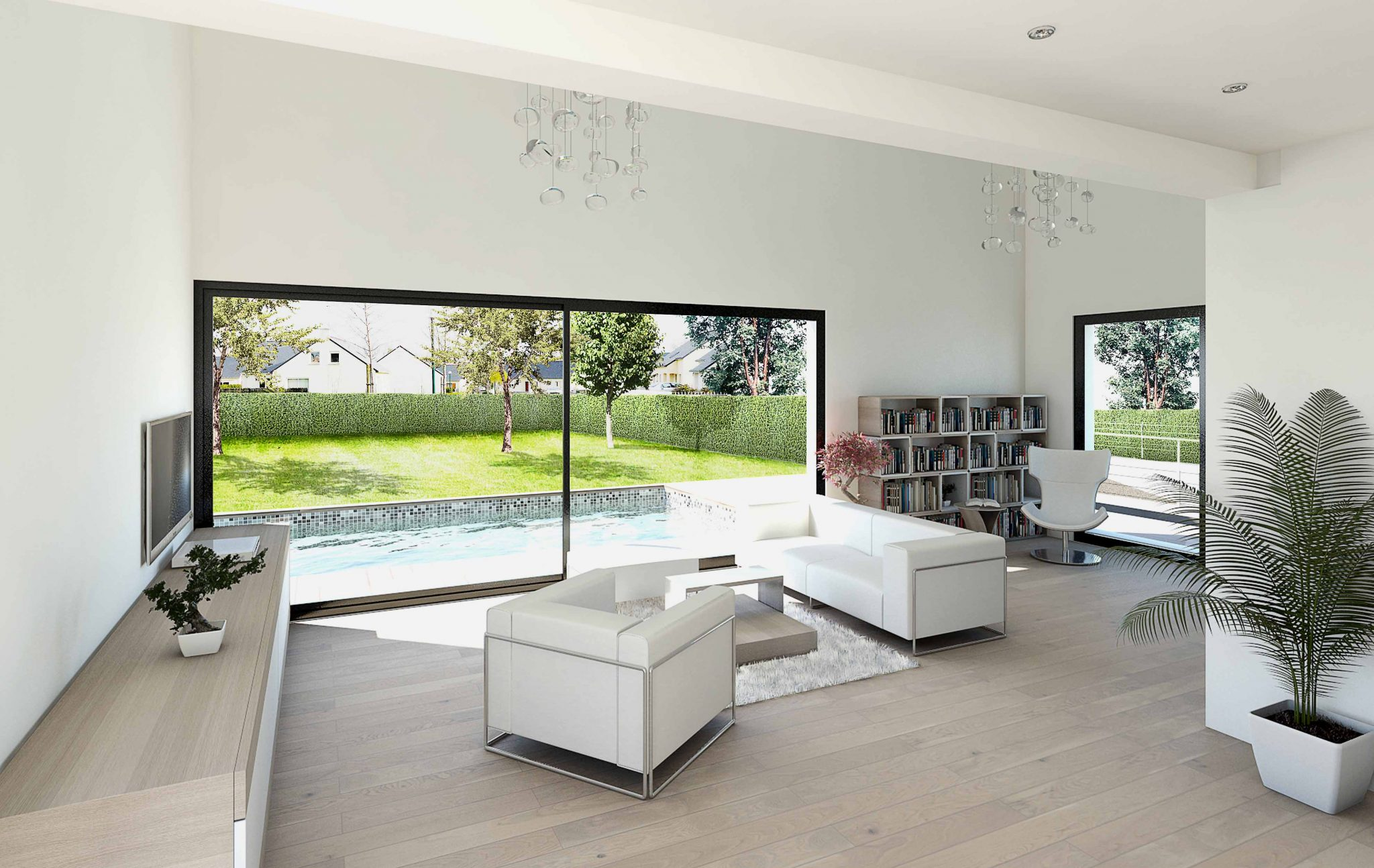 Architecture interieur villa moderne