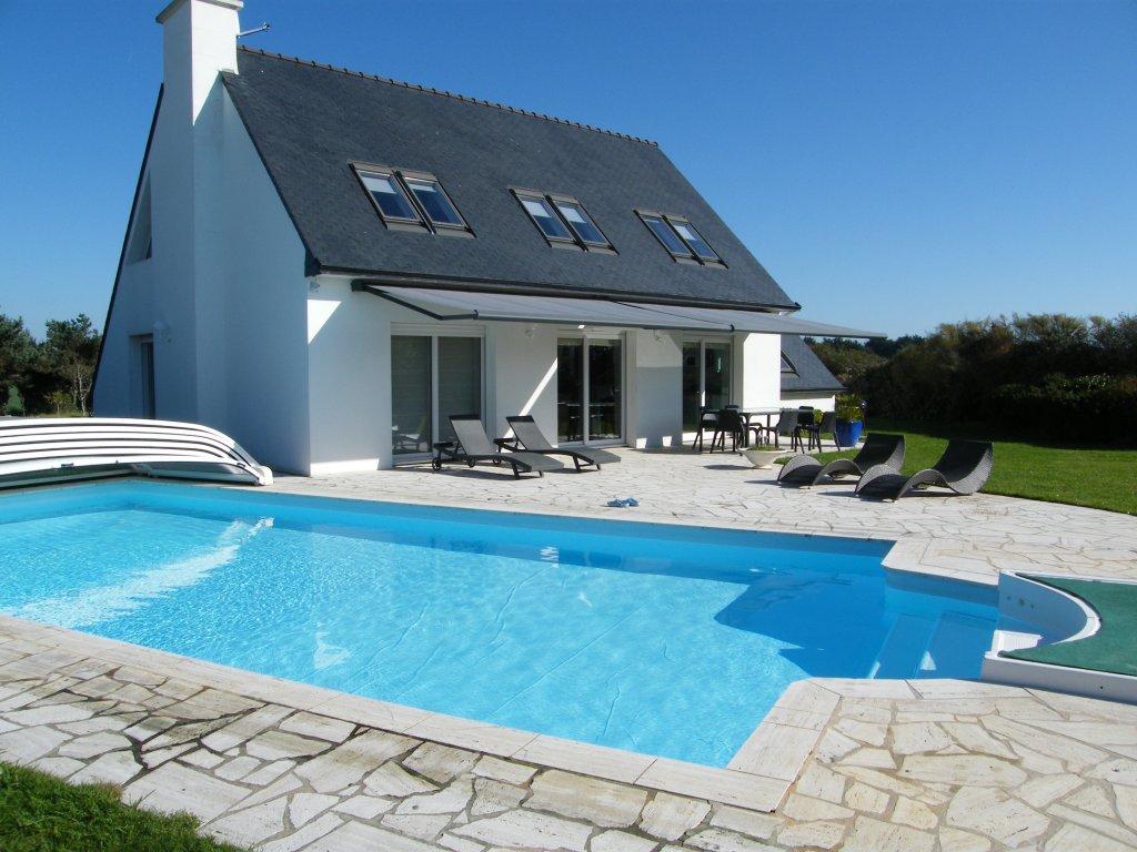 Maison avec piscine mc immo for Location maison ile de re avec piscine