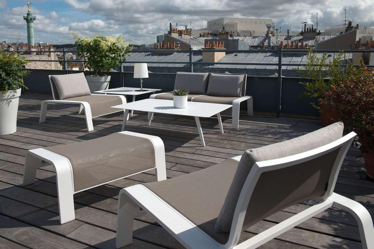 Stunning Salon De Jardin En Acier Ou Aluminium Ideas - House Design ...
