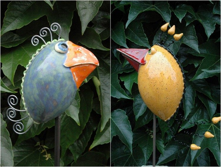 Decoration ceramique jardin - Mc immo