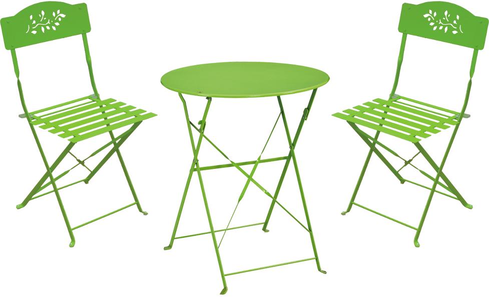 Petite table et chaise de jardin - Mc immo
