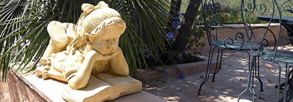 statue pour jardin pas cher