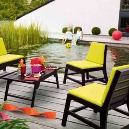 Salon de jardin couleur - Mc immo