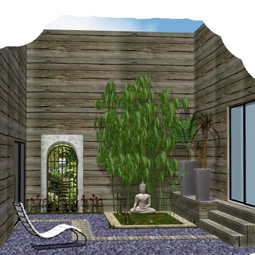 Deco jardin avec bouddha mc immo for Deco jardin zen bouddha
