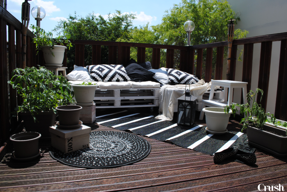 Awesome Decoration Terrasse Exterieure Photos - Sledbralorne.com ...