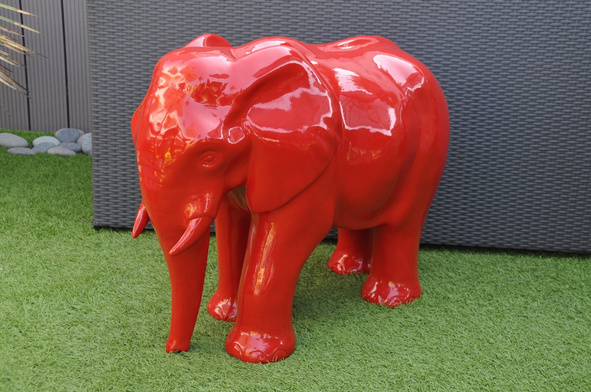 Elephant decoration jardin   Mc immo