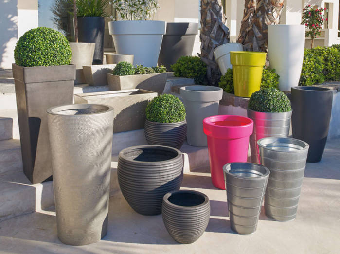 Pot deco terrasse - Mc immo