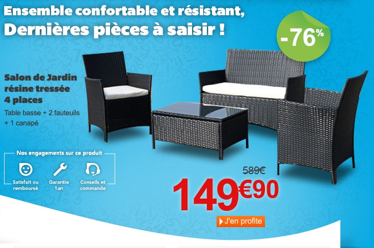 salon de jardin en promotion mc immo. Black Bedroom Furniture Sets. Home Design Ideas
