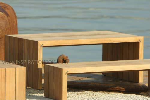 Voir La Sélection De Table De Jardin Pour Vous U003cu003cu003c. Meuble Exterieur Bois