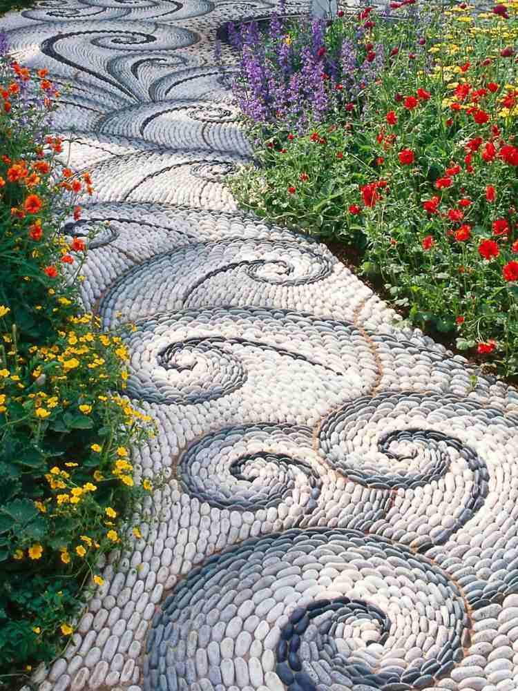 Galet decoration jardin - Mc immo